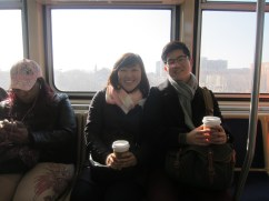 on a little excursion to Univ of Chicago! on the outskirts of the city.