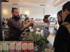 """Intelligentsia Coffee -- home of the hipsteriest hipsters """"Um. I usually drink mine black, but...I can make you a mean mocha."""""""
