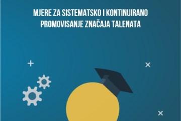 Mjere za sistematsko i kontinuirano promovisanje značaja talenata