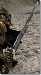 Dunmer Orichalc Sword Fine