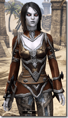 Dunmer Kresh - Female VR1 Normal Shirt Front