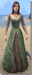 Frostfall Emerald and Leather
