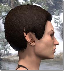 Tight-Curled Hair Helmet 2