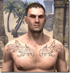 Wings of the Wind Goddess Male