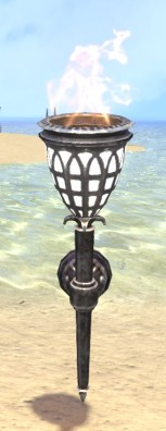 High Elf Sconce, Arched Glass