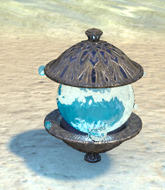 Psijic Lighting Globe, Framed