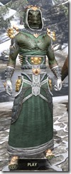 Dead-Water Homespun - Argonian Male Robe Front
