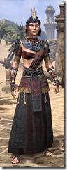 Elder Argonian - Female Robe Front