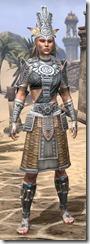 Elder Argonian Iron - Female Front