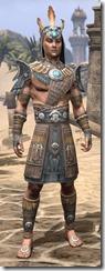 Elder Argonian Rawhide - Male Front
