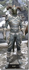Huntsman Iron - Argonian Male Front