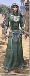 Silver Dawn Homespun - Female Robe Front