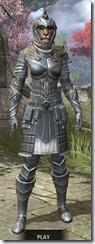 Silver Dawn Iron - Khajiit Female Front