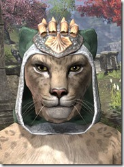 Dead-Water Homespun Hat - Khajiit Female Front