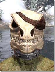 Pirate Skeleton Visage - Argonian Male Front