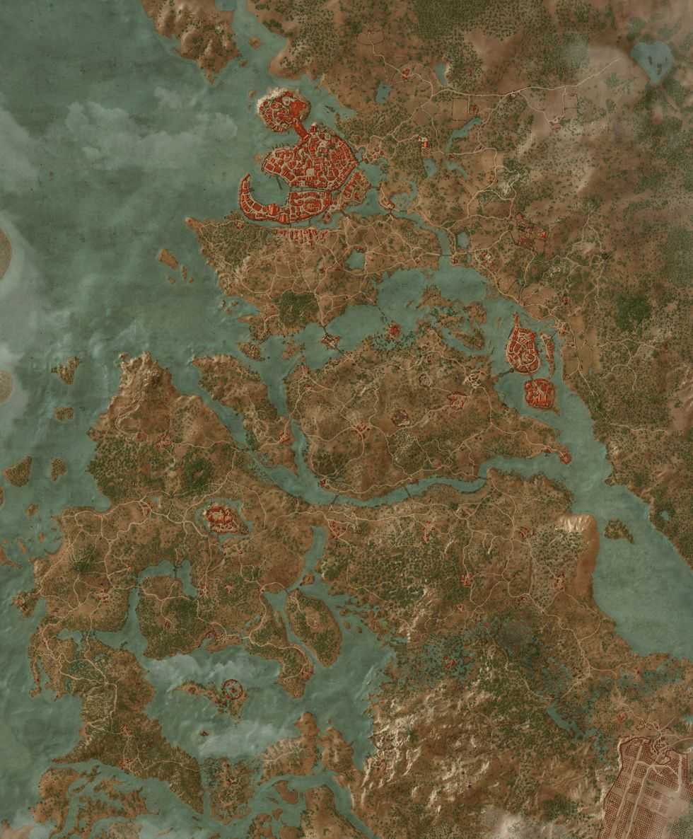 White Orchard Map : white, orchard, Places, Power, Witcher, Quests