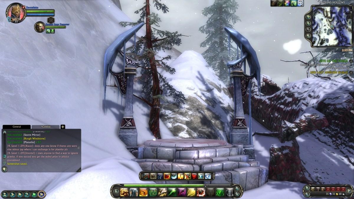 E questo altare sperduto in mezzo alle montagne a che serve?