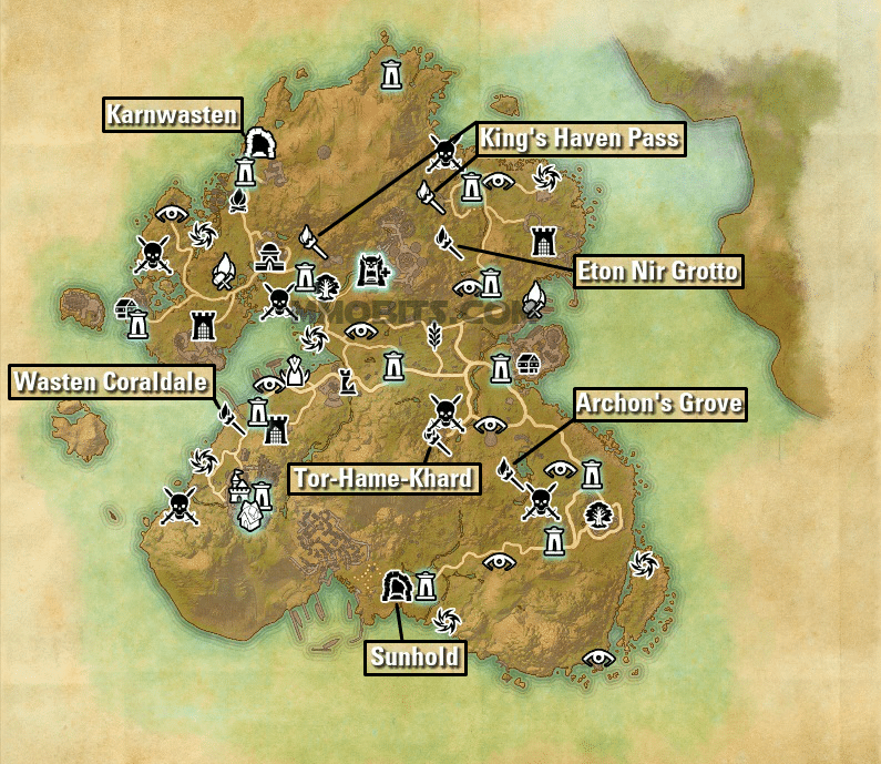 Summerset Delve and Public Dungeon Guides — Elder Scrolls Online