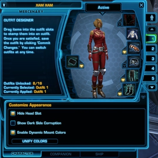 Major Features introduced (or Changed) in The Old Republic
