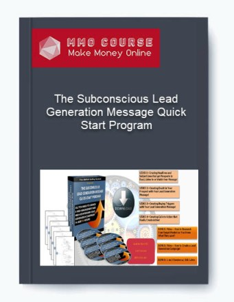 the subconscious lead generation message quick-start program - The Subconscious Lead Generation Message Quick Start Program - The Subconscious Lead Generation Message Quick-Start Program [Free Download]