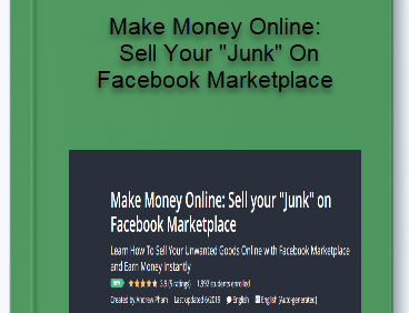 Make Money Online: Sell Your