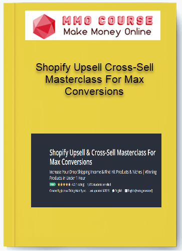 [object object] Shopify Upsell Cross-Sell Masterclass For Max Conversions [Free Download] Shopify Upsell Cross Sell Masterclass For Max Conversions