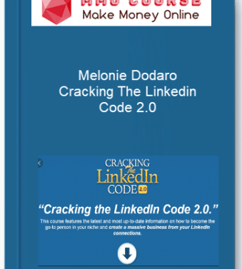 [object object] Home Melonie Dodaro     Cracking The Linkedin Code 2