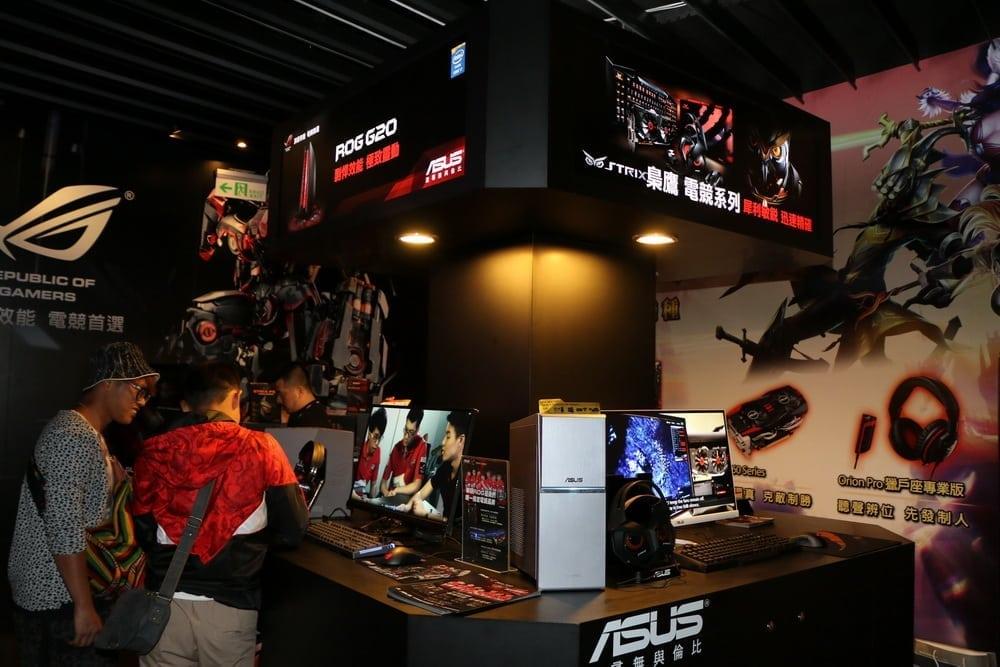 Garena - Asian eSports pioneer opens new indoor stadium in Taipei - MMO Culture