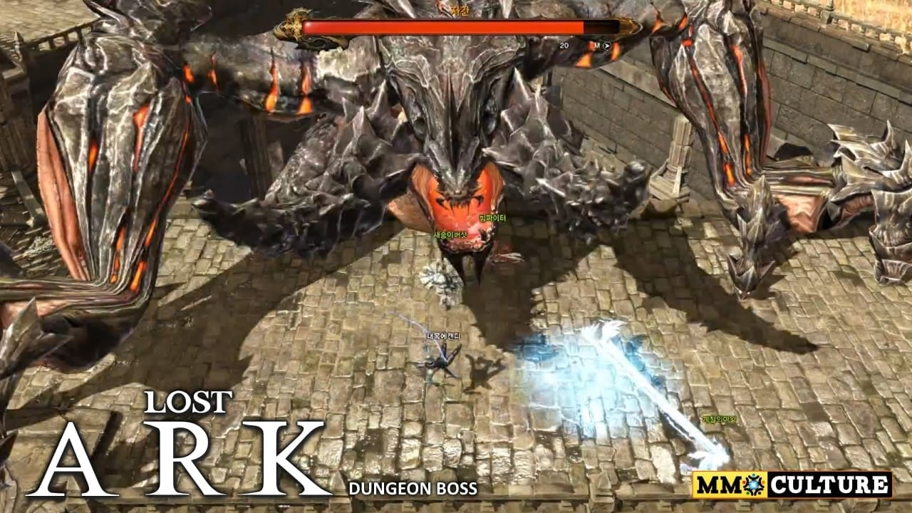 Lost Ark  New 20minute gameplay trailer showcases