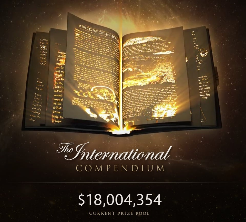 Dota 2 18 Million Prize Pool For The International