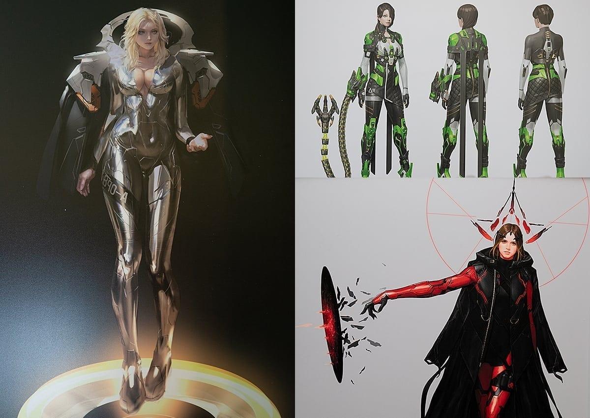 Ascendant One Character Concept Art
