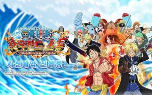 One Piece Thousand Storm Launching in Korea