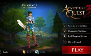 AdventureQuest 3D Interface Changes