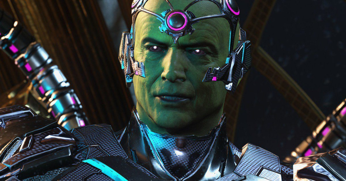 Injustice 2's Fifth Shattered Alliances Trailer Reveals Brainiac