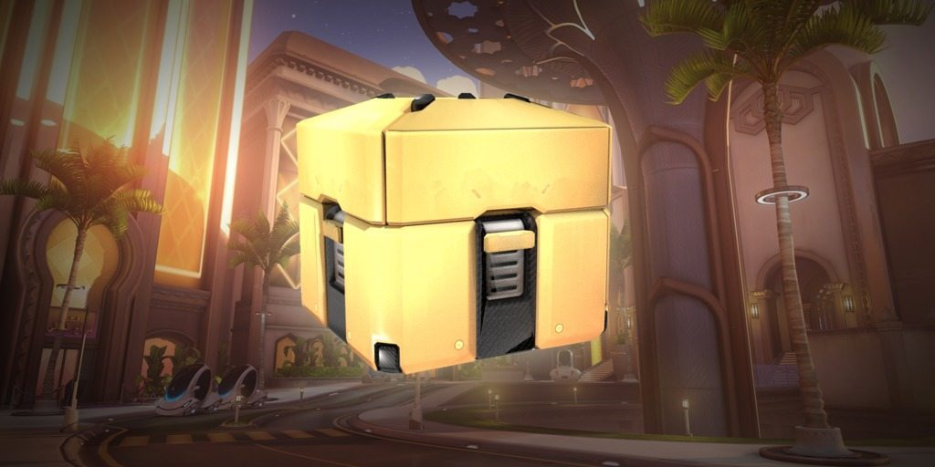 Golden Loot Boxes Offered To Overwatch Players With Twitch