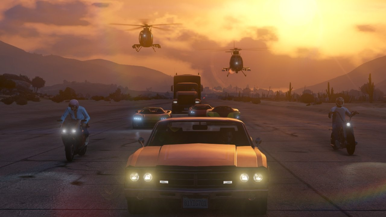 Rockstar's PS4, Xbox One and PC update LIVE, with new money boost