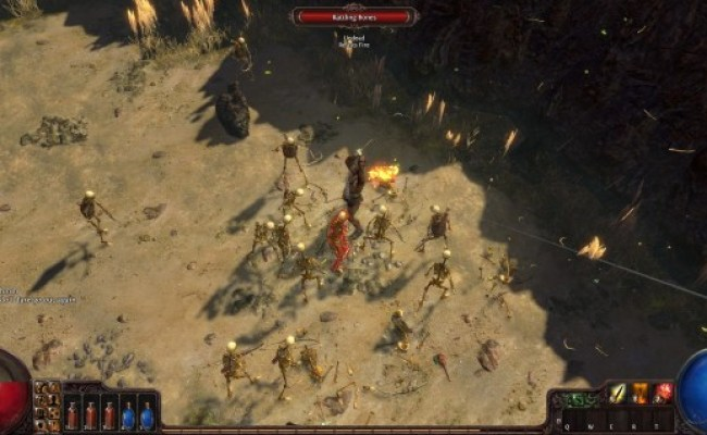 Review Path Of Exile Mmo Fallout