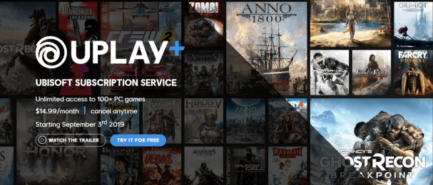 Ubisoft Announces UPlay Subscription Service: $14 99/mo | MMO Fallout