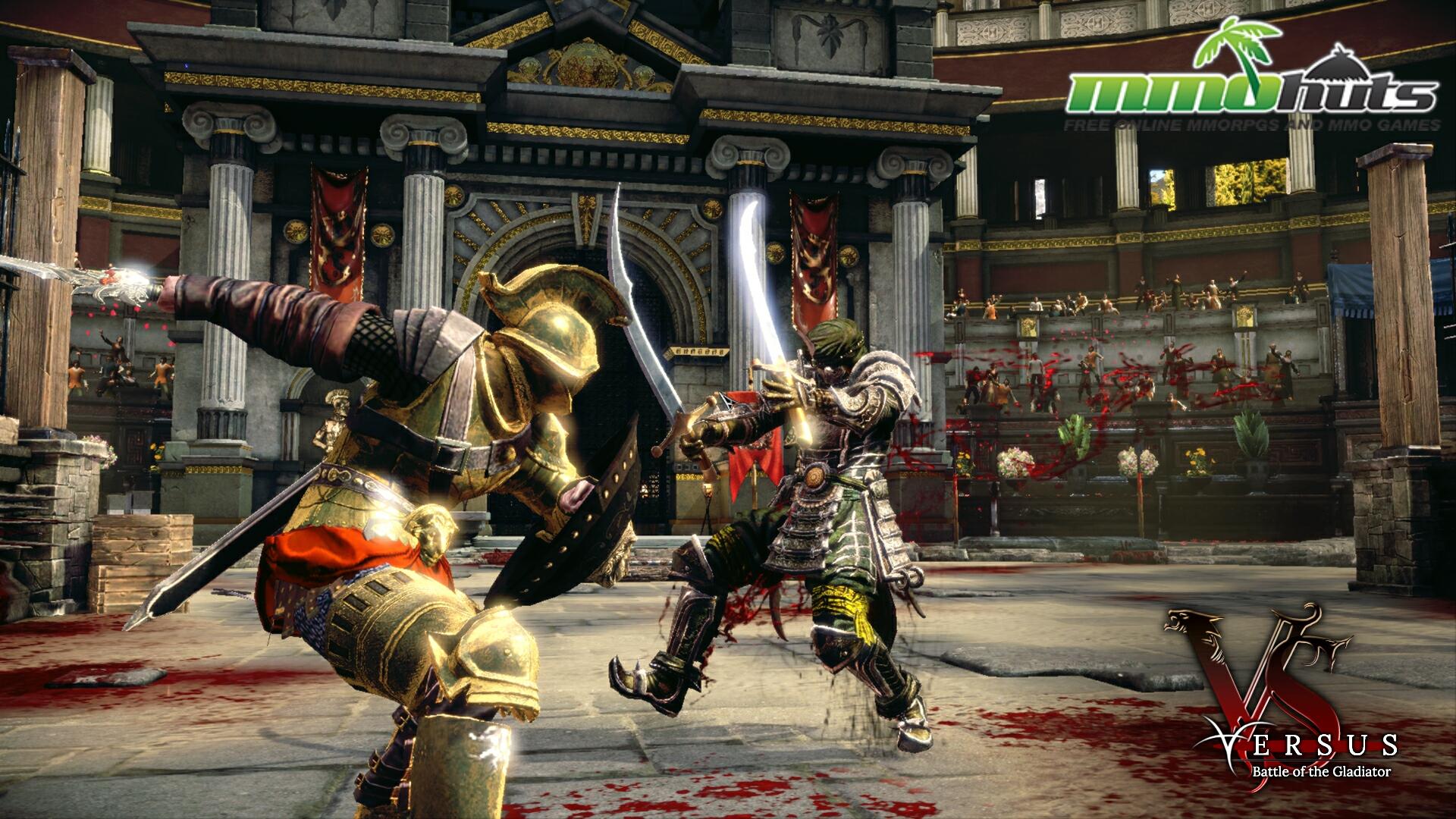 Samurai Sword Girl Wallpaper Versus Battle Of The Gladiator Mmohuts