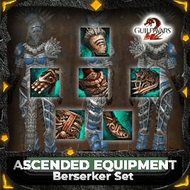 Ascended Equipment Berserker Set mmopilot new