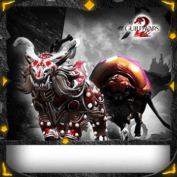 Warclaw and Roller Beetle Mount