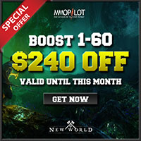 New World Boost Promotion 1-60