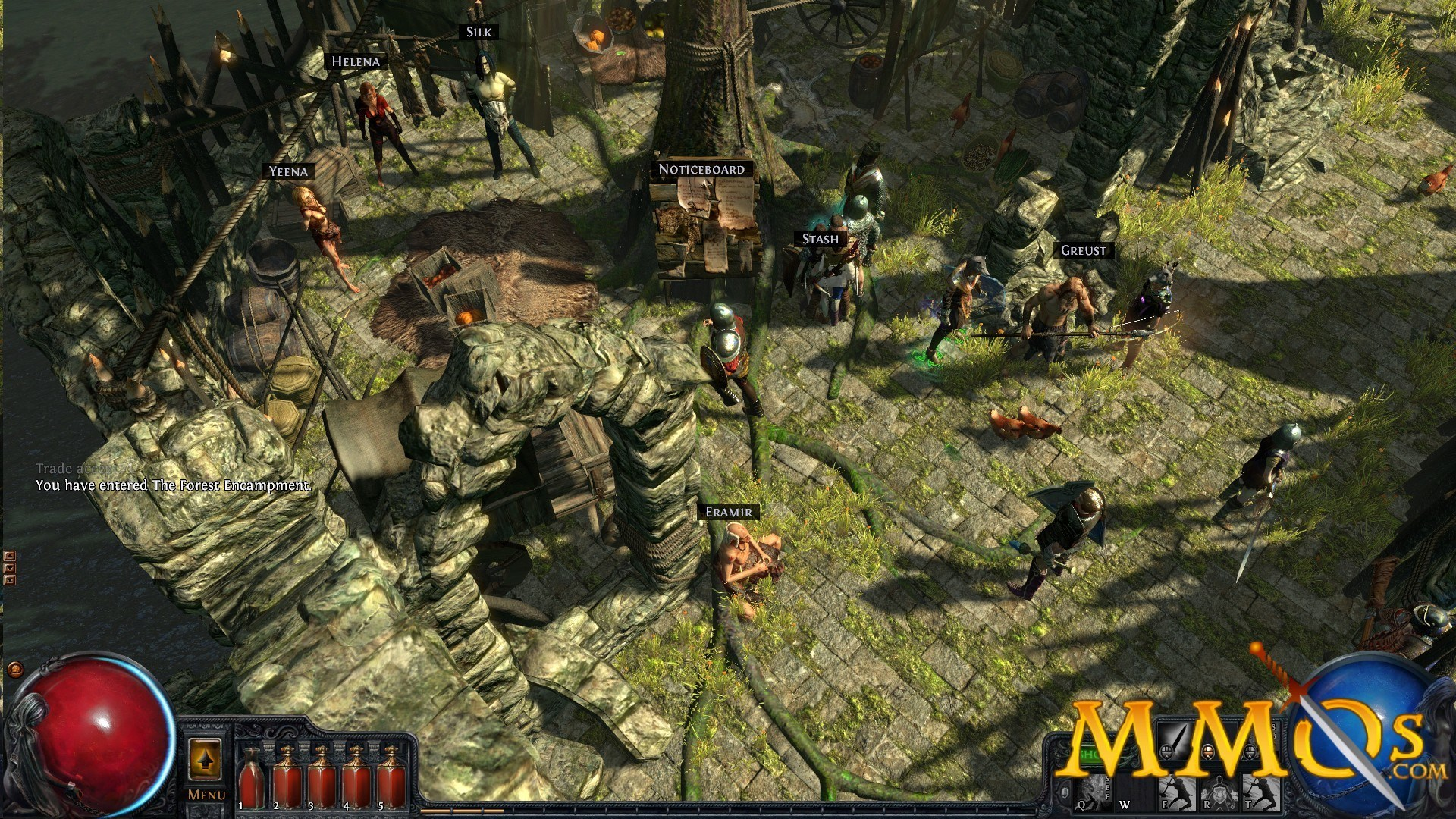 Path fo Exile Town