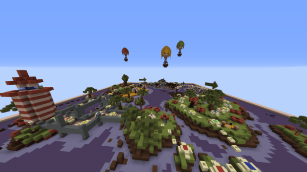 Download Makers Party Map for Minecraft 1.11.2 view (4593)