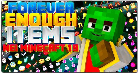Forever-Enough-Items-Mod