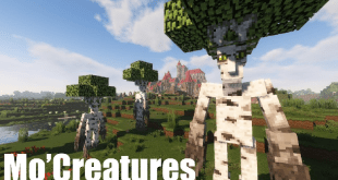 Mo'Creatures Mod – Mod monsters and exotic animals for Minecraft game