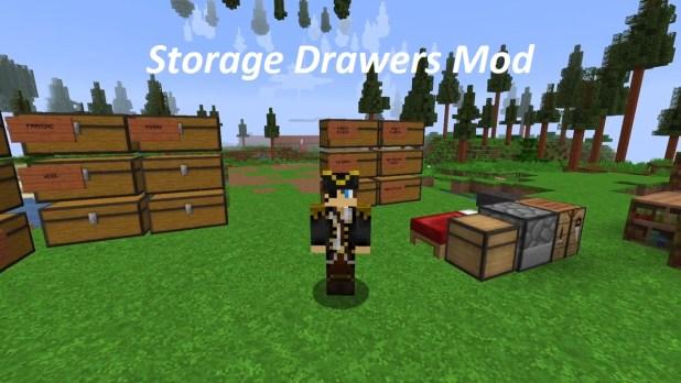 Storage Drawers Mod