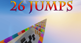 Download 26 Jumps Map for Minecraft 1.10.2 view (1235)