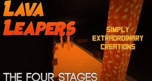 Download Lava Leapers – The Four Stages Map for Minecraft 1.11.2 view (2439)