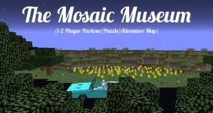 Download The Mosaic Museum Map for Minecraft 1.12 view (5840)